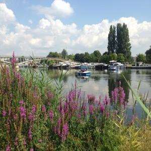 le Canal du Nivernais à Auxerre