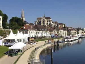 Fête Fleurs de Vigne à Auxerre