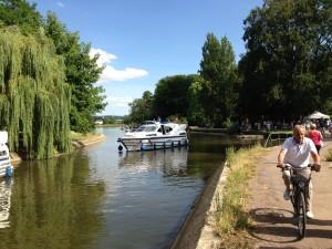 Auxerre et le canal du Nivernais