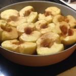 cuisson des pommes