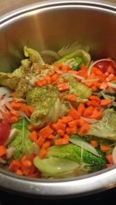 légumes sauteuse