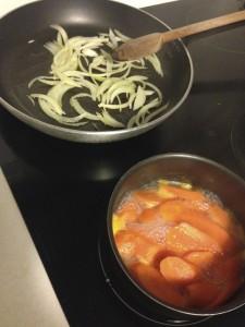 Oignon et carotte
