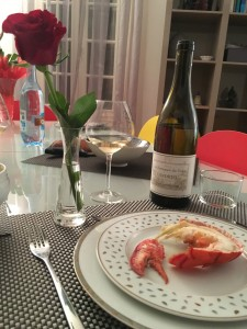 Le homard de la Saint-Valentin