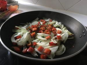 oignon & poivron