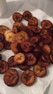 assiette de bananes