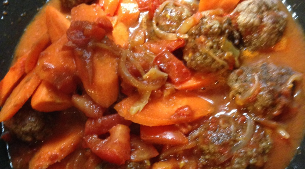 Boulettes de Kefta aux petits légumes
