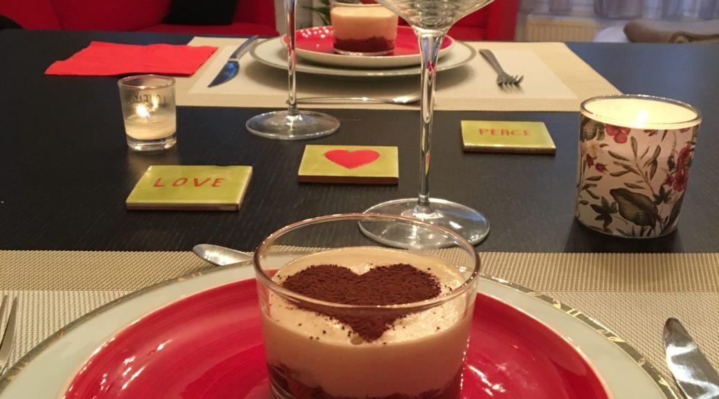 Tiramisu au spéculos coeur de cacao